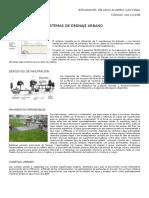 Sistemas de Drenaje Urbano