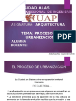 Procesos de Urbanizacion