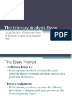 the literary analysis essay  2