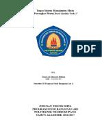 7 Perangkat Mutu Politeknik Negeri Kupang