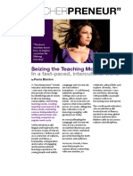 Paola Blanton, Teacherpreneur