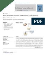 Hollow Fiber Membrane Bioreactor