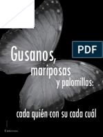 Gusanos, Mariposas y Palomillas