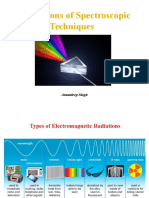 Applications of Spectroscopic Techniques