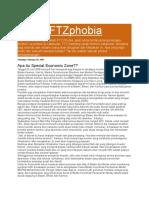 Konsep FTZ Berubah Menjadi SEZ Untuk 10 Kawasan Berikat