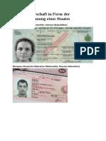 Staatsbürgerschaft - Reisepässe