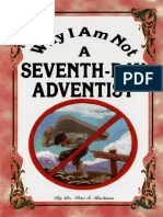 Why I Am Not a Seventh-Day Adventist - Dr Peter S Ruckman