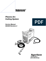Manual de Servicio Plasma Powermax 600