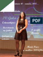 Revista FutbolFemininoGalego. Xaneiro 2017