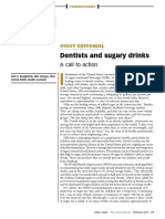 Dentists and Sugary Drinks