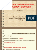 Movement Disorder Degenerative Disorders