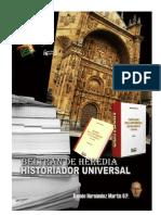 Beltrán de Heredia, historiador universal