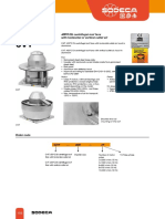 Ventilator Centrifugal de Acoperis Tip Turela CHT CVT