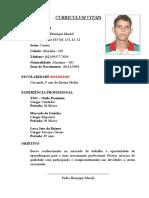 Curriculo Pedro Henrique