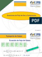 Ecuaciones de Flujo de Gas