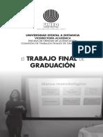 Folleto Trabajo Final Graduacion UNED
