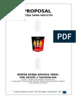 Proposal Bkk Smk Negeri 2 Tasikmalaya