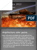 BIOCLIMATICAConfort Ambiental II2013