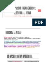 Derecho a La Verdad Barbara Pacheco