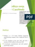 Medisys Case Study