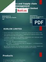 Group No.10_Section A_Kurlon Case
