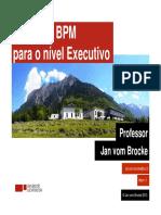 (SLIDE) Trazendo BPM Para o Nível Executivo - Bringing BPM to the Board Level