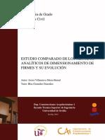 Estudio Comparado de Los Metodos Analiticos de Dimensionamiento de Firmes y Su Evolucion