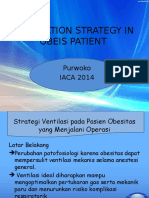 Ventilation Strategy in Obeis Patient Iaca