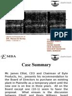 Byte Case Study