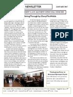 JANUARY 2017 Emmanuel & St. Andrews & St. Matthews Newsletter