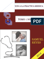 Introduccion a La Practica Medica UNIDAD I Samuel Reyes
