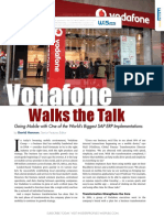 Accenture SAP Vodafone Walks the Talk