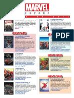Catálogo MARZO 2017 Marvel