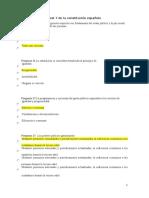 Test 7 de La Constitución Española