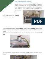 Reparar evaporador