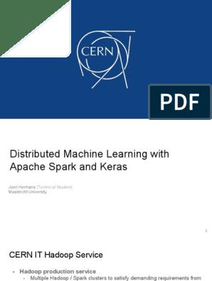 JOERI HERMANS Distributed Keras | Apache Spark | Apache Hadoop