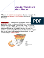 A Teoria Da Tectónica Das Placas