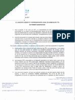 Comunicado de Prensa de AGM Salud