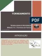 Apresentação Ficha 3 - Torneamento