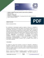 RA201503652 - Relatório de Auditoria Anual de Contas Consolidado DPF - Exercício 2014