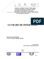 Diaconescu Georgeta Disertatie-master PDF