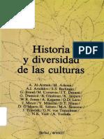 Historia y diversidad de Las culturas