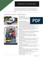 VanPartner_ProductDetails_Ambulancia Tipo B-C - Modelo Huelva