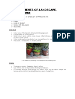 Revised Basic Elements of Landscape Architecture