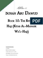 Sunan Abu Dawud - Book 10 - The Rites of Hajj (Kitab Al-Manasik Hajj)