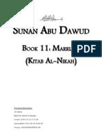 Sunan Abu Dawud - Book 11 - Marriage (Kitab Al-Nikah)