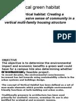 Vertical Habitat