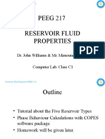 (2) PEEG 217 Reservoir Fluid Properties - Computer Lab Class 01-18-22APR10