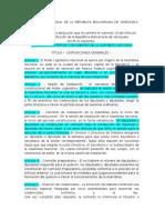 Reglamento Interno de Debates Asamblea Nacional