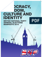 BNP General Elections Manifesto 2010